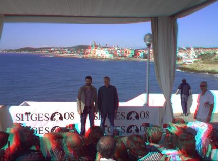 Primer photocall 3D hecho en el festival de Sitges por Jordi Alonso para cine3D.com